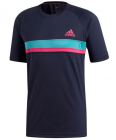 Adidas Men's Colorblock Club Crew Legend Ink D93123