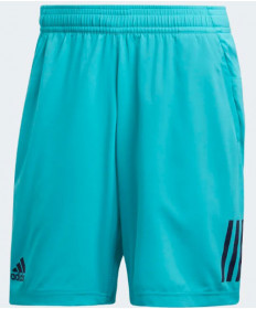 Adidas Men's 3 Stripes Club Shorts Hi-Res Aqua D93661