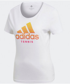 Adidas Women's Badge of Sport Tee T-Shirt White DJ1697