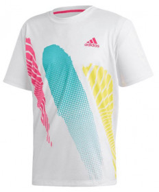 Adidas Men's Seasonal Graphic Tee T-Shirt White DM7595
