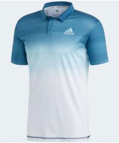 Adidas Men's Parley Polo White / Easy Blue DP0288