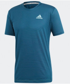 Adidas Men's Parley Stripe Tee Top Legend Ink DT4186