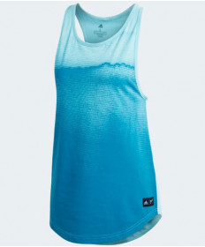 Adidas Women's Parley Tank in Blue Spirit DV2975