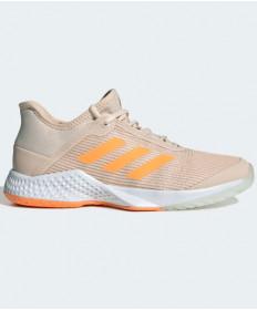 Adidas Women's Adizero Club Shoes Linen / Flash Orange G26541