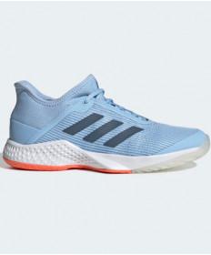 Adidas Women's Adizero Club Shoes Glow Blue / Coral G26548