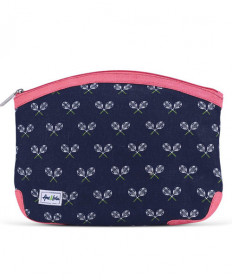 Amy & Lulu Kiss and Makeup Beauty Bag Match Point Navy/Pink BTB102