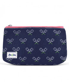 Ame & Lulu Cosmetic Case Matchpoint Navy/Pink CBC102