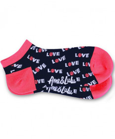 Ame & Lulu Meet Your Match Socks Pink SOCKS118
