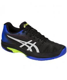 Asics Men's Solution Speed FF Shoes Black / Illusion Blue 1041A003.011