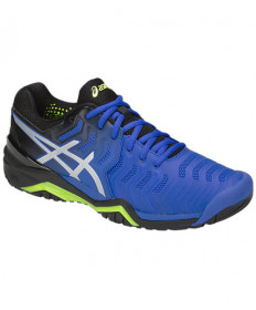 Asics Men's Gel Resolution 7 Shoes Illusion Blue / Silver E701Y-407