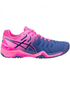 Asics Women's GEL Resolution 7 Shoes Blue E751Y-400