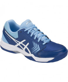 Asics Women's GEL-Dedicate 5 Shoes Monaco Blue / White E757Y-400