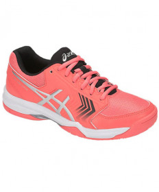 Asics Women's Dedicate 5 Shoes Papaya / Silver E757Y-708
