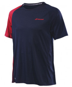 Babolat Men's Performance Crew Neck Tee Black / Salsa 2MS19011-2010