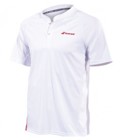 Babolat Men's Performance Polo White / Salsa 2MS19021-1024