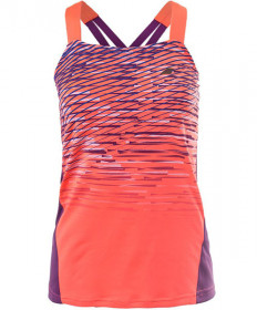 Babolat Women's Performance Tank Top Fluro Red 2WS17071-201