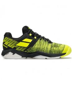Babolat Men's Propulse Blast AC Shoes Black / Fluo Aero 30F19442-2013