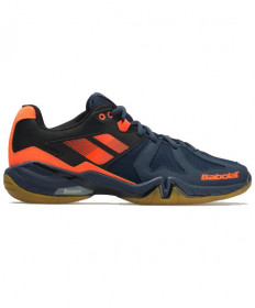 Babolat Men's Shadow Spirit Shoes Navy/Orange Indoor Shoes 30S1803-297