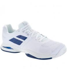 Babolat Men's Propulse Blast AC Shoes White/Blue 30S18442-1005