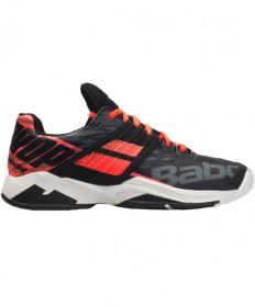 Babolat Men's Propulse Fury All Court Shoes Black / Fluo Strike 30S19208-2012