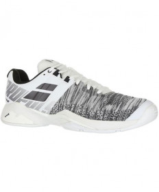 Babolat Men's Propulse Blast AC Shoes White / Black 30S19442-1001