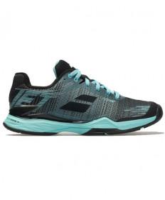 Babolat Women's Jet Mach 2 Shoes Blue / Black 31F19630-4042