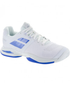 Babolat Women's Propulse Blast AC Shoes White/Wedgewood 31S18447-1006
