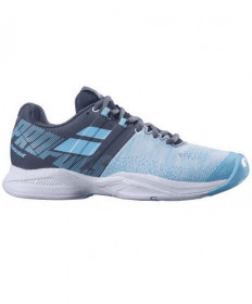Babolat Women's Propulse Blast AC Shoes Grey / Blue Radiance 31S19447-3016