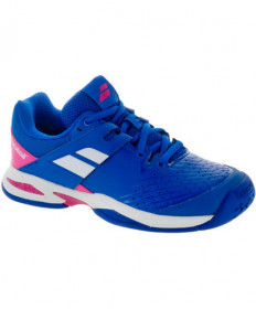 Babolat Junior Propulse All Court Shoes Blue/Pink 32S18478-4027