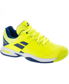 Babolat Junior Propulse All Court Shoes Yellow/Blue 32S18478-7002