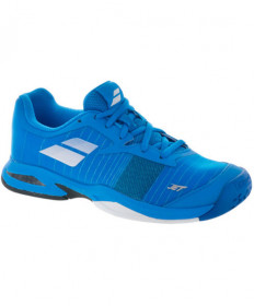 Babolat Junior Jet All Court Shoes Blue/White 32S18648-4014