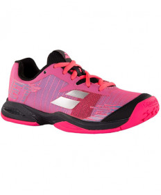 Babolat Junior Jet AC Shoes Pink/Black 32S19648-5023