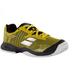 Babolat Juniors Jet AC Shoes Dark Yellow / Black 32S19648-7007