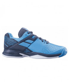 Babolat Juniors' Propulse AC Shoes Blue / Grey 32S19478-4045