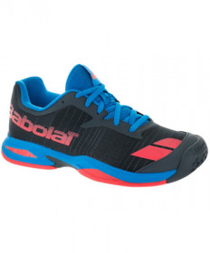 Babolat Junior Jet All Court Shoes Grey/Red 33S17648-256