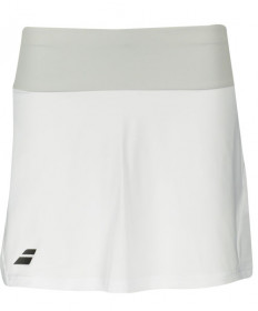 Babolat Women's Core 14 Inch LONG Skirt White 3WS18082-000