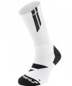 Babolat Men's Big Logo Socks White/Black 5MS17342-147