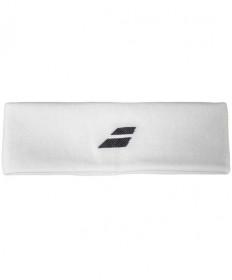 Babolat Logo Headband White/Blac 5US18301-1001