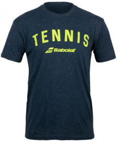 Babolat Men's Tennis Logo Tee Midnight Navy 911066-U04