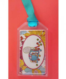 Bloom Designs Tennis Bag Tag