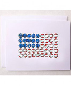 Bloom Designs Tennis America Note Cards NOTES-TA