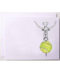Bloom Designs Note Cards Tennis Screw Notes-TS