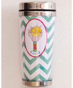 Bloom Designs Travel Mug Tennis Celebration TOGOCUP-TC