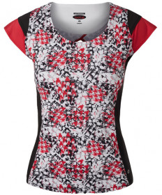 Bolle HP Checkmate Cap Sleeve Top Print 8404-0110
