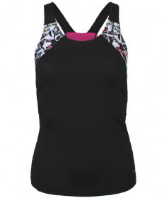 Bolle HP Pop Art Racerback Strappy Tank Black 8405-1000