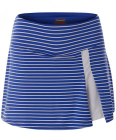 Bolle Wisteria 14 Inch Striped Flounce Skirt Blue Water 8601-4353