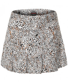 Bolle Safari 14 Inch Bottom Pleat Skirt Safari Print 8605-0110