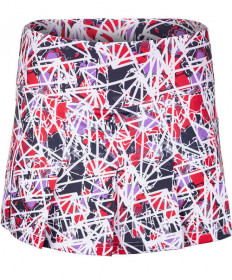 Bolle HP Stained Glass 13 Inch Pleated Skirt Print 8613-0110