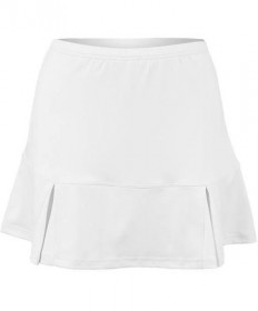 Bolle Pleated Bottom Skirt White 8682-0110