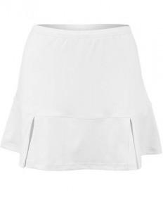Bolle Pleated Bottom Skirt White 8682-0110